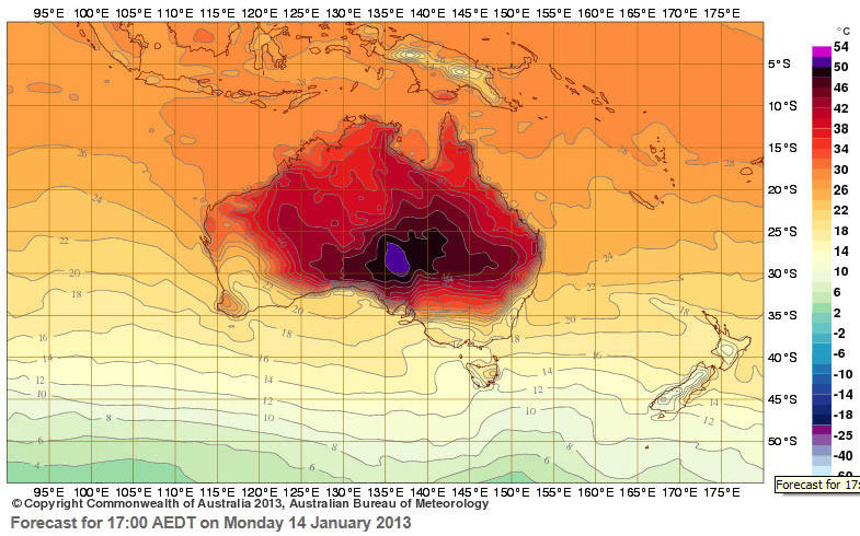 Copyright: Australian Bureau of Meteorology