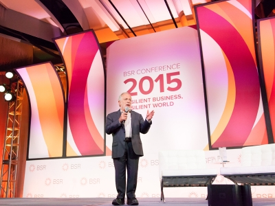 Robert Reich Explores Resilience, Inclusive Economy at the BSR Conference 2015