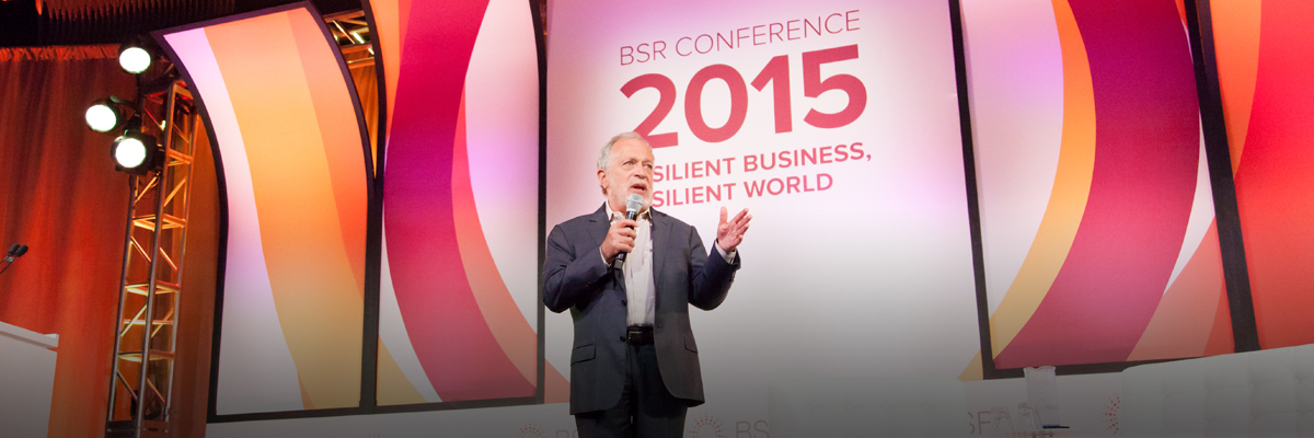 Resilience: Robert Reich Explores Resilience, Inclusive Economy at the BSR Conference 2015