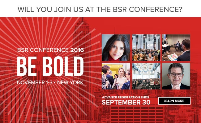 BSR Conference 2016