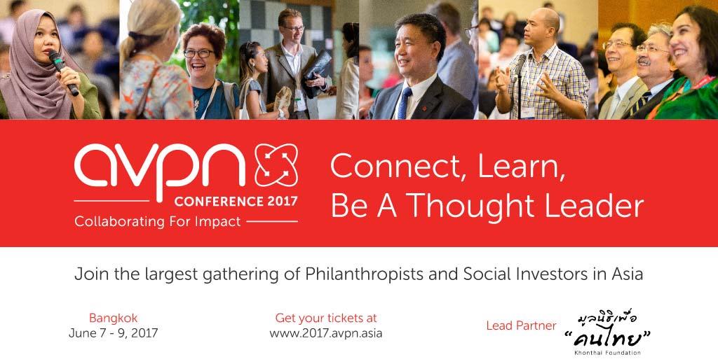 AVPN Conference banner