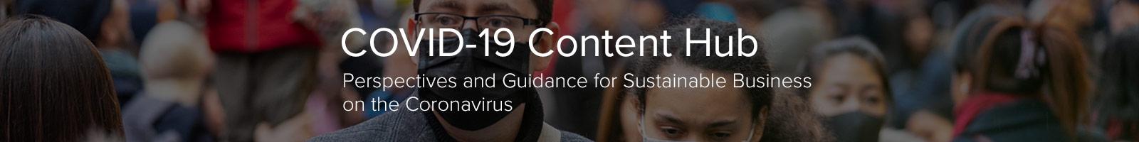 COVID-19 content hub