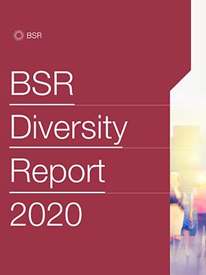 BSR Report Diversity Report 2020 Cover