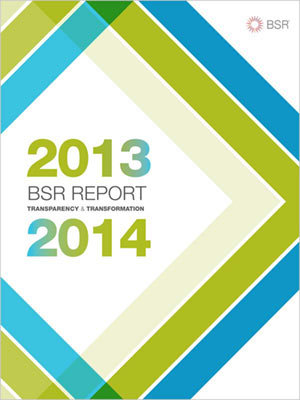 BSR Report 2013-14 Cover