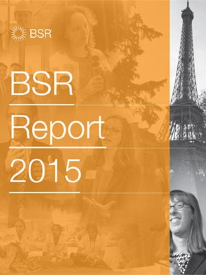 BSR Report 2015 Cover