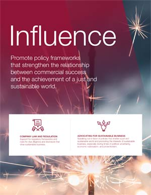 Influence report cover