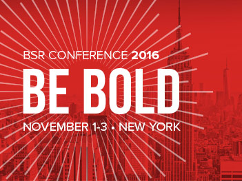 BSR Conference 2016: Be Bold