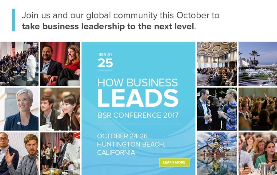 BSR Confernce 2017: How Business Leads, learn more