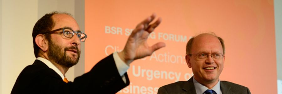 The BSR Spring Forum 2014: Asking the Right Questions about Climate Change
