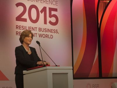 Denise Morrison, President and CEO of Campbell Soup Company, Explores Leadership, Purpose at #BSR15