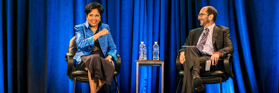 Food Beverage And Agriculture: A Conversation with PepsiCo Chairman and CEO Indra Nooyi: How Do You Promote Transformation?