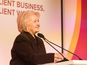 Resilience: A Video Interview with Melanne Verveer at the BSR Conference 2015