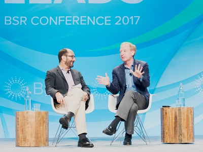Microsoft's Brad Smith Highlights Business Leadership at the BSR Conference 2017