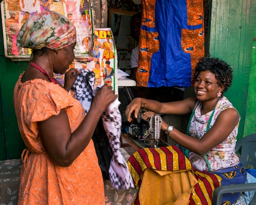 Apparel Industry Brief: Women's Economic Empowerment in Sub-Saharan Africa