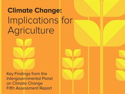 Climate Change : Implications for Agriculture