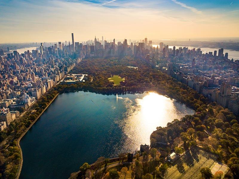 Central Park Größe